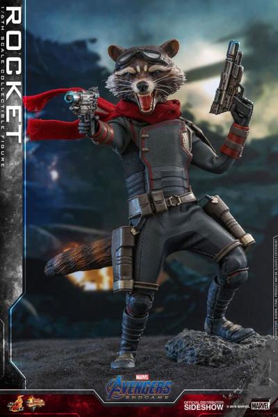 """Aus Hot Toys' luxuriöser """"Movie Masterpiece""""-Reihe kommt diese großartige Actionfigur aus dem Marvel Blockbuster """"Avengers: Endgame"""". Sie ist ca. 16 cm groß, trägt echte Stoffkleidung und kommt mit zahlreichen Austausch- und Zubehörteilen in einer schicke"""