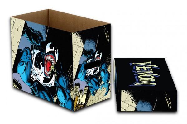 - Qualitativ hochwertige Box zur sicheren Archivierung von Comics- Größe: 23 x 29 x 39 cmDer Umkarton enthält 5 Boxen.