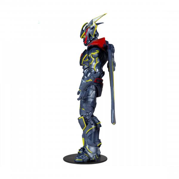 """Aus dem DC Universum kommt diese detailreiche, bewegliche Actionfigur. Sie ist ca. 18 cm groß und wird mit weiterem Zubehör und Base in einer bedruckten Fensterbox geliefert.<br /><br />Die im """"Ultra Articulation""""-Design entworfene Figur verfügt über 22 A"""