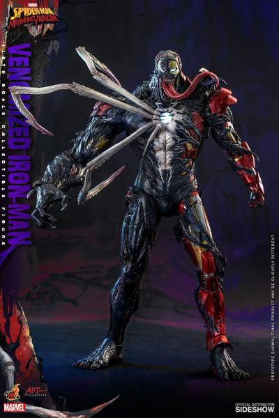 Aus Hot Toys´ luxuriöser ´Artist Collection´-Reihe kommt diese grossartige Figur aus der TV Serie ´Marvel's Spider-Man: Maximum Venom´. Wie gewohnt wird auch diese limitierte Figur im Maßstab 1:6 mit jeder Menge Zubehör und Austausch-Teilen geliefert. Auß