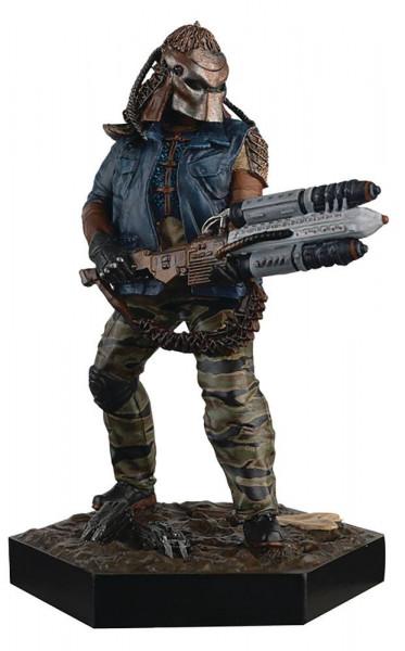 In der Reihe 'The Alien & Predator Figurine Collection' erscheinen in regelmäßigen Abständen detailreiche Figuren aus den Alien, Predator, AvP und Prometheus Filmen. Die Figur im Maßstab 1:16 ist ca. 13 cm groß.
