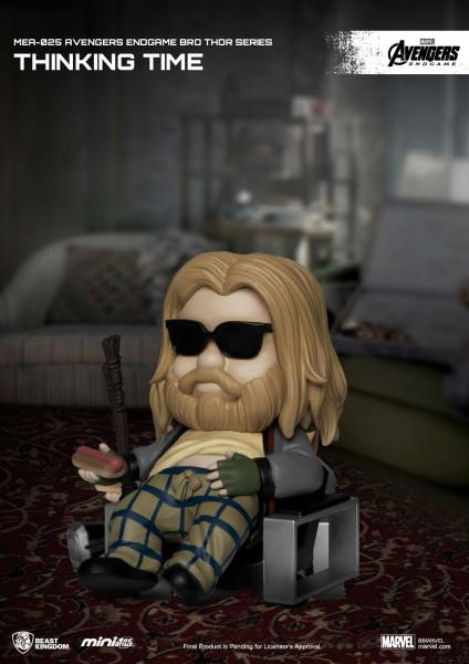 """Zum Marvel Blockbuster """"Avengers: Endgame"""" kommt diese super-niedliche Figur aus der """"Mini Egg Attack"""" Serie von Beast Kingdom Toys. Die aus PVC gefertigte Figur ist ca. 8 cm groß und wird mit Base in einer bedruckten Box geliefert."""