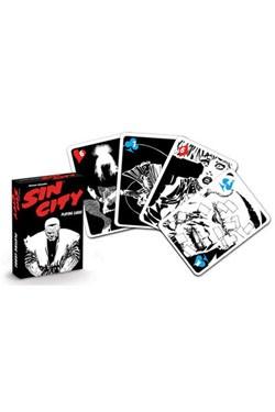 - Qualitativ hochwertige Spielkarten<br />- Offiziell lizenziert<br />- 52er Blatt für Poker, Skat, etc.