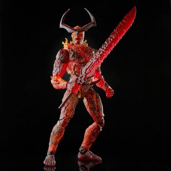 Mit der Kraft der Ewigen Flamme erhebt sich der Dämon Surtur aus der Asche und entfesselt seine Wut über Asgard.<br /><br />DURCH DAS MARVEL ENTERTAINMENT INSPIRIERTES DESIGN: Die Surtur Figur präsentiert sich mit einem Premium Design, ist detailgetreu un