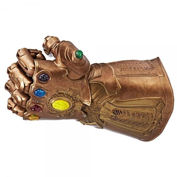Erweitere deine Marvel Legends Sammlung mit dem elektronischen Infinity Gauntlet. Bringe eine der mächtigsten Waffen des Marvel Universums zum Leben! Mit diesem Infinity Gauntlet aus der Marvel Legends Serie kannst du die Kraft der Infinity-Steine kontrol