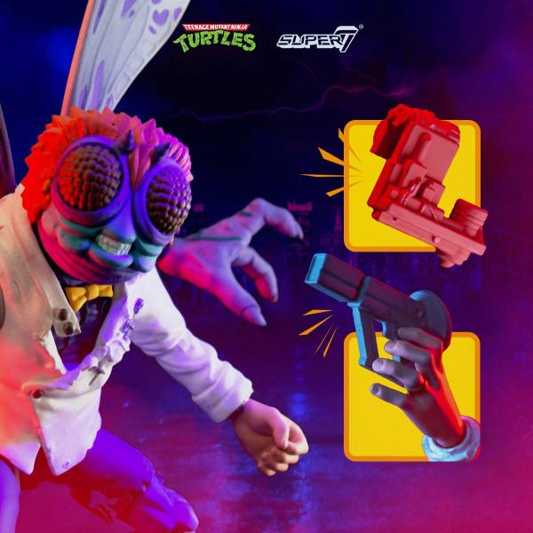 """Aus Super7's """"Ultimates""""-Reihe kommt diese bewegliche Actionfigur. Sie ist ca. 18 cm groß und wird mit weiterem Zubehör und Austauschteilen geliefert."""