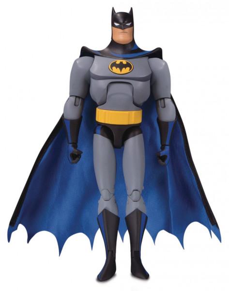 """Inspiriert von der TV-Serie """"Batman: The Animated Series"""" kommt diese detailreiche Actionfigur aus der Reihe """"Batman: The Adventures Continue"""". Sie ist ca. 16 cm groß und wird mit weiterem Zubehör in einer Blisterverpackung geliefert."""