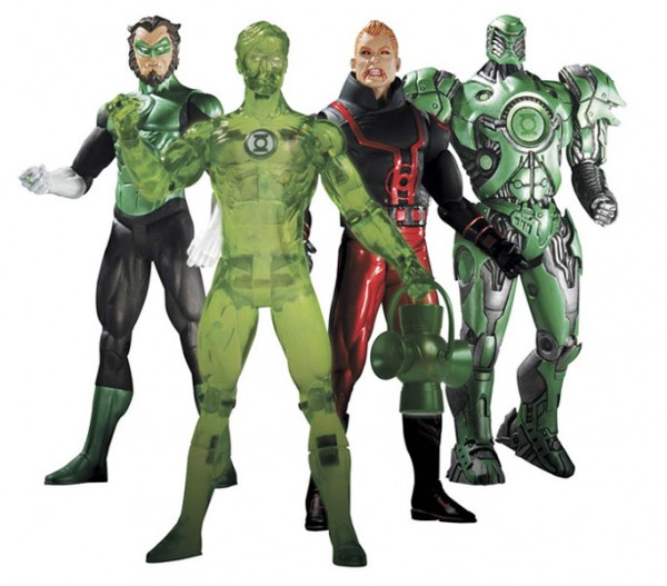Green Lantern Serie 4 Actionfiguren 17 cm (Set alle 4 Figuren )