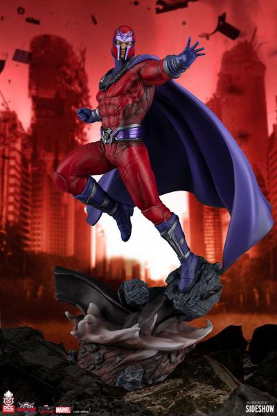 PCS präsentiert diese herausragende Statue von Magneto aus dem Videospiel ´Marvel Future Revolution´!<br /><br />Diese hochwertige Polystone-Statue ist ca. 43 x 27 x 25 cm groß und wird im bedruckten Karton geliefert.