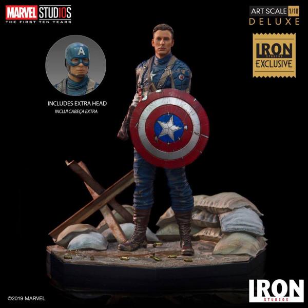 Aus dem Marvel Universum kommt diese offiziell lizenzierte Statue aus Resin. Die im Maßstab 1/10 gehaltene Statue ist ca. 21 x 19 x 19 cm groß und wird mit passender Base in einer bedruckten Box geliefert.