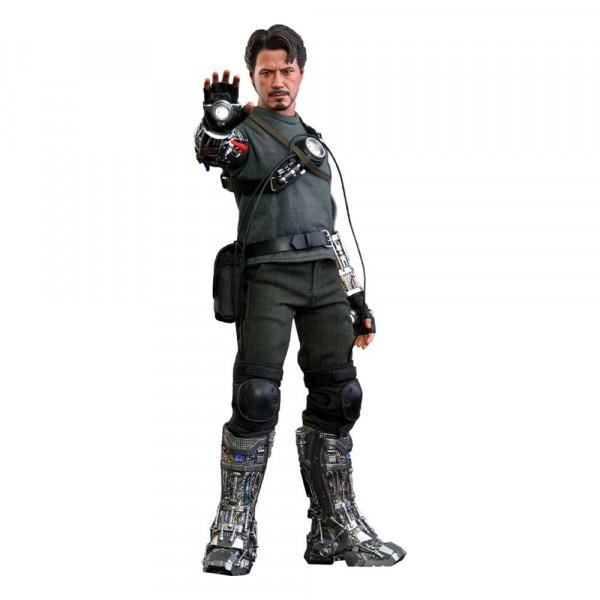 Iron Man Movie Masterpiece Actionfigur 1/6 Tony Stark (Mech Test Deluxe Version) 30 cm