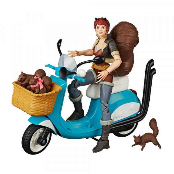 Marvel Legends Series Actionfigur mit Fahrzeug Squirrel Girl 15 cm