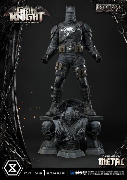 """Zur Comicbuch-Reihe """"Dark Nights: Metal"""" kommt diese fantastische Statue. Sie ist ca. 82 x 52 x 44 cm groß und wurde aus hochwertigem Polystone gefertigt.<br /><br />Das edle Sammlerstück wird mit ansprechender Base in einer bedruckten Box geliefert.<br /"""
