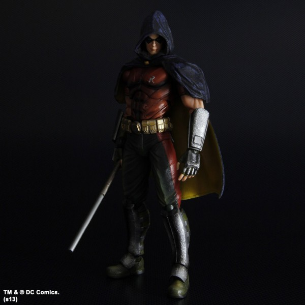 Batman Arkham City Play Arts Kai Actionfigur Robin 25 cm