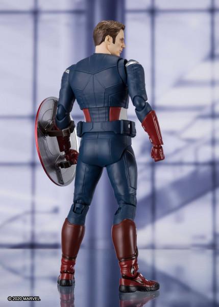 """Zum Marvel Blockbuster """"Avengers: Endgame"""" kommt diese großartige und voll bewegliche Actionfigur aus Tamashii Nations """"S.H. Figuarts""""-Reihe.<br /><br />Die Figur ist ca. 15 cm groß und wird mit weiterem Zubehör sowie Austauschteilen in einer Fensterbox g"""
