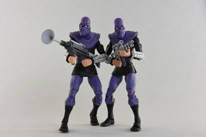 Teenage Mutant Ninja Turtles Actionfiguren Doppelpack Foot Soldier 'Army Builder' 18 cm