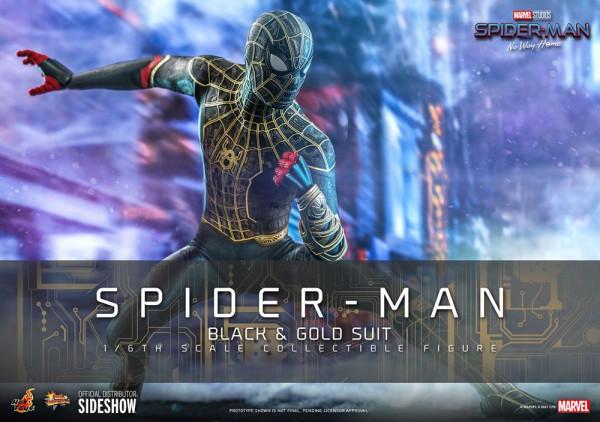 """Aus Hot Toys' luxuriöser """"Movie Masterpiece""""-Reihe kommt diese großartige Actionfigur aus dem Marvel Blockbuster """"Spider-Man: No Way Home"""". Sie ist ca. 30 cm groß, trägt echte Stoffkleidung und kommt mit zahlreichen Austausch- und Zubehörteilen in einer s"""