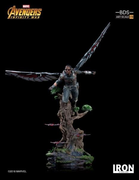 Zum Marvel Blockbuster Avengers: Infinity War kommt diese offiziell lizenzierte Statue aus Resin. Die im Maßstab 1/10 gehaltene Statue ist ca. 43 cm groß und kommt mit passender Diorama-Base.