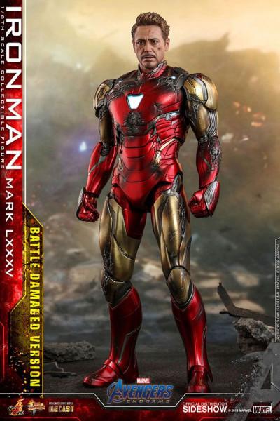 """Aus Hot Toys' luxuriöser """"Movie Masterpiece Series Diecast""""-Reihe kommt diese großartige Actionfigur aus dem Marvel Blockbuster """"Avengers: Endgame"""". Sie ist ca. 32 cm groß und kommt mit zahlreichen Austausch- und Zubehörteilen in einer schicken Fensterbox"""