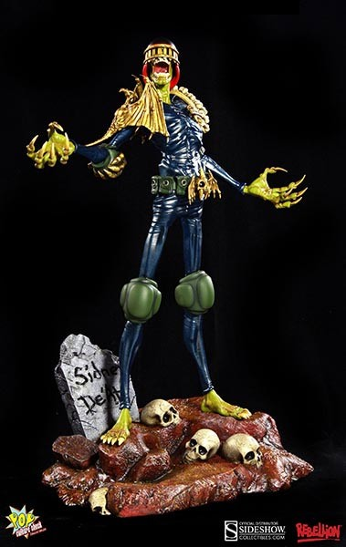 Judge Dredd Statue 1/4 Judge Death 53 cm