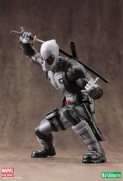 Aus der erfolgreichen ´ARTFX+´ Reihe von Kotobukiya kommt diese Statue zur Marvel Comics Reihe ´Marvel Now´. Die detailreiche PVC Statue im Maßstab 1/10 ist ca. 15 cm groß. Die Statue muss in wenigen, einfachen Schritten zusammengesteckt werden und wird