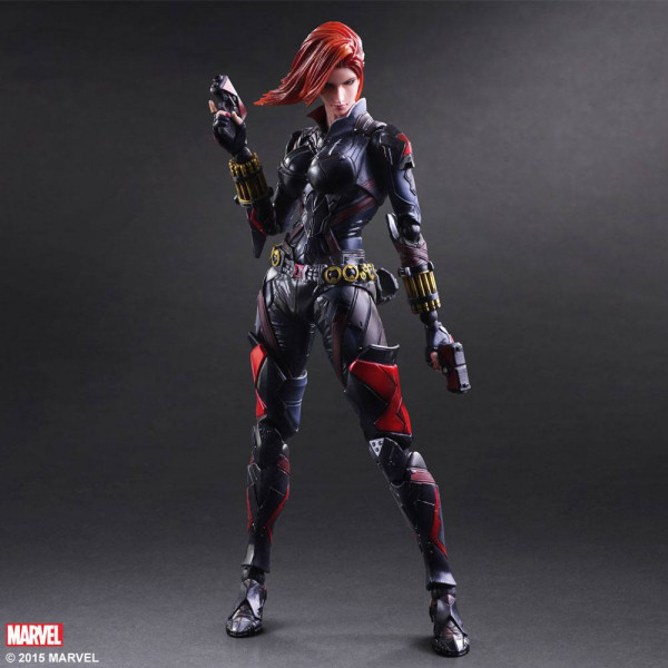 Marvel Comics Variant Play Arts Kai Actionfigur Black Widow 26 cm