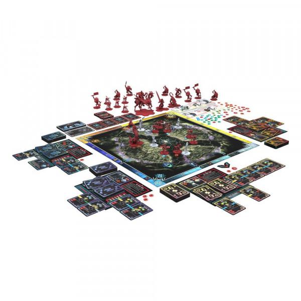 Devil May Cry: The Bloody Palace ist ein semi-kooperatives taktisches Actionspiel für 1-4 Spieler mit Deckbau, Charakterfortschritt und innovativer Spielmechanik.<br /><br />Inhalt:<br /><br />- 4x Teufelsjäger (V & Shadow, Trish, Nero, Dante)<br />- 12x