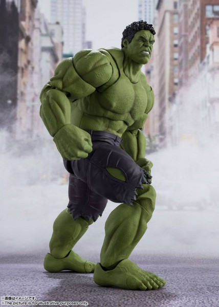 """Zum Marvel Blockbuster """"The Avengers"""" kommt diese großartige und voll bewegliche Actionfigur aus Tamashii Nations """"S.H. Figuarts""""-Reihe.<br /><br />Die Figur ist ca. 20 cm groß und wird mit weiterem Zubehör sowie Austauschteilen in einer Fensterbox gelief"""