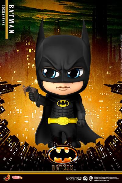 """Zu Tim Burtons """"Batman"""" kommt diese niedliche Figur aus der """"Cosbaby""""-Reihe. Sie ist ca. 12 cm groß."""