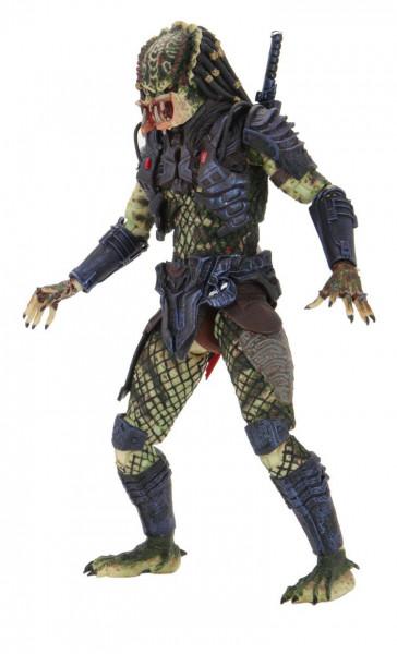 """Aus """"Predator 2"""" kommt diese coole Actionfigur eines Predators. Sie ist ca. 20 cm groß und wird mit weiterem Zubehör und austauschbaren Teilen in einer Fensterbox geliefert."""