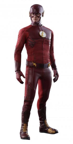 """Hot Toys präsentiert diese großartige Actionfigur im Maßstab 1/6 aus der TV-Serie """"The Flash"""". Sie ist ca. 31 cm groß, trägt echte Stoffkleidung und kommt mit zahlreichen Austausch- und Zubehörteilen sowie Figurenständer in einer schicken Fensterbox mit S"""