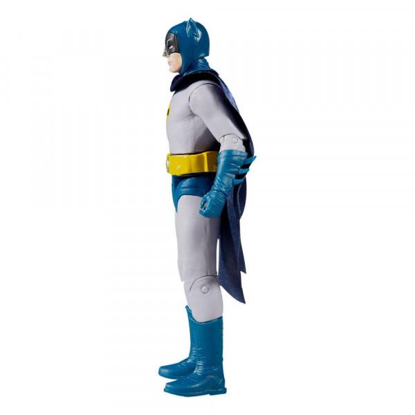 Aus dem DC Universum kommt diese detailreiche, bewegliche Actionfigur. Sie ist ca. 15 cm groß und wird mit weiterem Zubehör und Base in einer bedruckten Fensterbox geliefert.