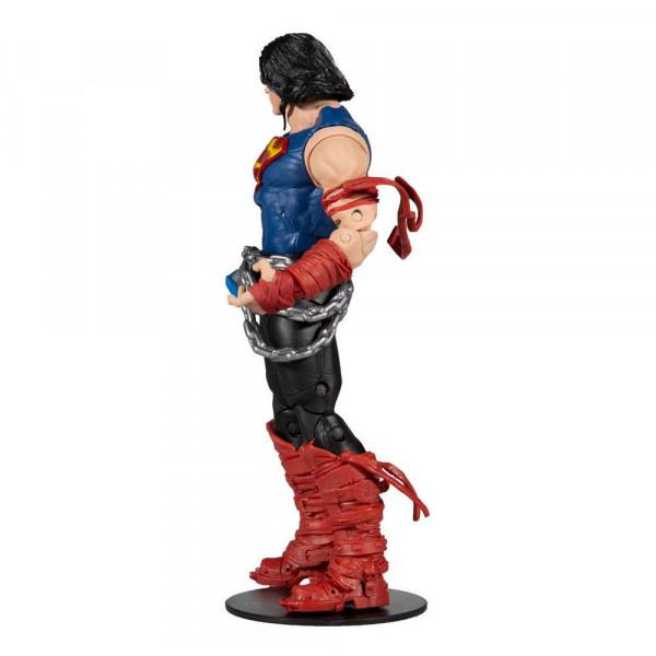 """Aus der Comicbuch-Reihe """"DC Death Metal"""" kommt diese detailreiche, bewegliche Actionfigur. Sie ist ca. 18 cm groß und wird mit weiterem Zubehör, Base und Sammelkarte in einer bedruckten Fensterbox geliefert.<br /><br />Jede Figur der """"Build A"""" Reihe enthä"""
