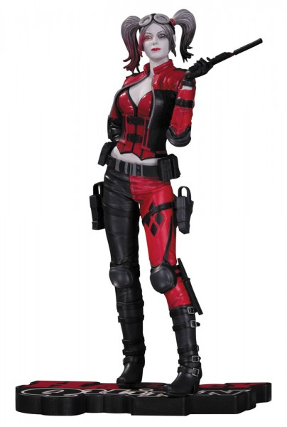 DC Comics Red, White & Black Statue Harley Quinn (Injustice 2) 20 cm