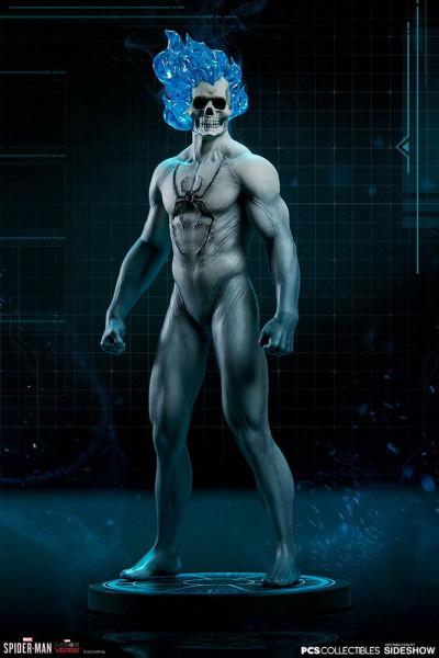 """Pop Culture Shock präsentiert diese detailreiche Statue von Spider-Man in seinem Spirit Spider Suit aus dem Videospiel """"Marvel's Spider-Man"""".<br /><br />Die hochwertige Resin-Statue im Maßstab 1/10 ist ca. 20 cm groß."""