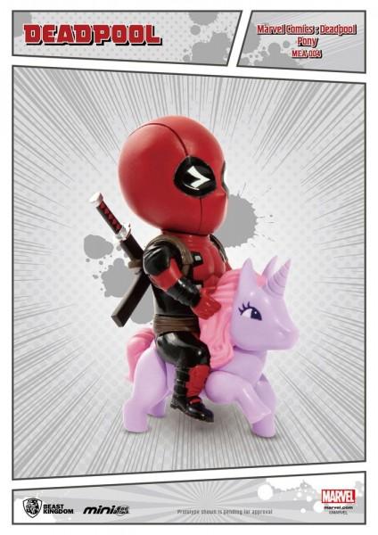 Aus dem Marvel Universum kommt diese super-niedliche Figur aus der Mini Egg Attack Serie von Beast Kingdom Toys. Die aus PVC gefertigte Figur ist ca. 9 cm groß und wird mit Base in einer bedruckten Box geliefert.