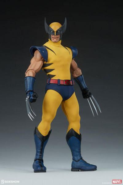 Aus Sideshow Collectibles' Sixth Scale Marvel Reihe kommt diese detailreiche Actionfigur. Sie ist ca. 30 cm groß, trägt echte Stoffkleidung und wird mit weiterem Zubehör und austauschbaren Teilen in einer Fensterbox mit Klappdeckel geliefert.