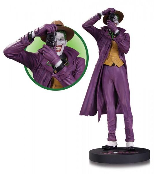 Aus der Reihe ´DC Comics Designer Series´ kommt diese großartige Resin-Statue nach einem Entwurf von Brian Bolland und skulptiert von David Giraud. Sie ist ca. 35 cm gross und auf 5000 Stück limitiert