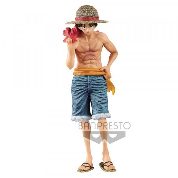 Zur Manga/Anime-Reihe `One Piece´ kommt diese detailreiche PVC Statue. Sie ist ca. 22 cm groß und wird mit Base geliefert.