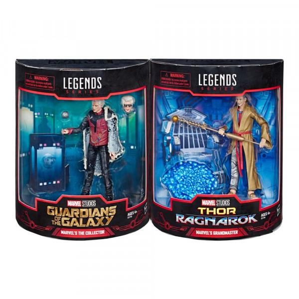 """Aus Hasbros """"Marvel Legends"""" Reihe kommen diese voll beweglichen Actionfiguren. Sie sind ca. 15 cm groß und werden inkl. Zubehör in einer Fensterbox geliefert."""