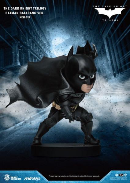 """Zur """"Dark Knight""""-Trilogie kommt diese super-niedliche Figur aus der """"Mini Egg Attack"""" Serie von Beast Kingdom Toys. Die aus PVC gefertigte Figur ist ca. 8 cm groß und wird mit Base in einer bedruckten Box geliefert."""