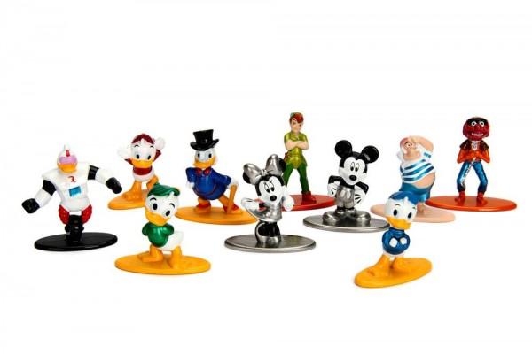Aus der Nano Metalfigs Reihe kommt dieser Pack mit 10 detailreichen Figuren aus Metall. Die Figuren sind ca. 4 cm groß und werden in einer Blisterverpackung geliefert.