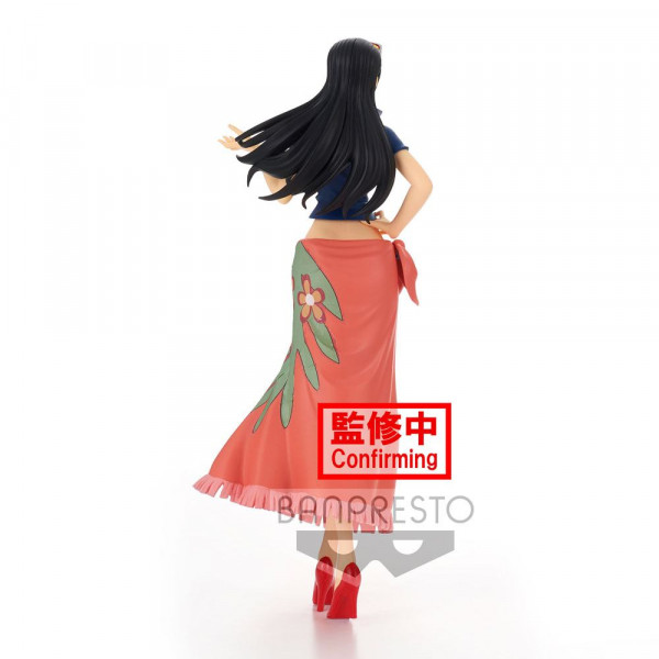 """Zur Manga/Anime-Reihe """"One Piece"""" kommt diese detailreiche PVC Statue. Sie ist ca. 25 cm groß und wird inkl. Base in einer bedruckten Box geliefert."""