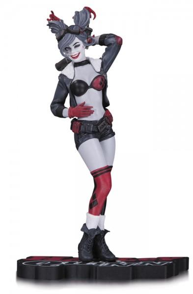 DC Comics Red, White & Black Statue Harley Quinn 17 cm