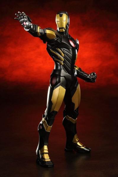 Aus der erfolgreichen ´ARTFX+´ Reihe von Kotobukiya kommt diese Statue zur Marvel Comics Reihe ´Avengers Now´. Die detailreiche PVC Statue im Maßstab 1/10 ist ca. 21 cm groß. Die Statue muss in wenigen, einfachen Schritten zusammengesteckt werden und wird