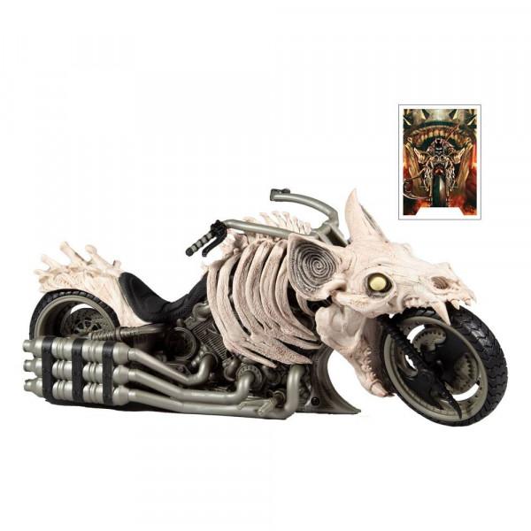 Aus dem Hause McFarlane kommt das Death Metal Motorcycle Fahrzeug.<br /><br />Features:<br /><br />- Unglaublich detailliertes Fahrzeug basierend auf dem DC Multiverse<br />- Mit beweglichen Rädern und rotierenden Lenkern<br />- Kompatibel mit allen 18 cm