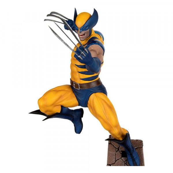"""Zum Marvel Videospiel """"Marvel Future Fight"""" kommt diese coole Statue aus PVC im Maßstab 1:10. Sie ist ca. 22 x 11 x 13 cm groß."""